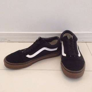 ORIGINAL Vans Old Skool Black Gum Sole