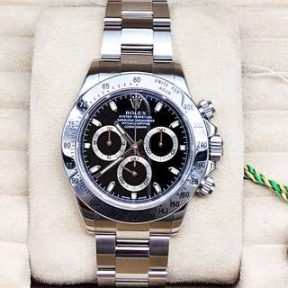 W1055 Rolex116520 Stainless Steel with Box Y serial