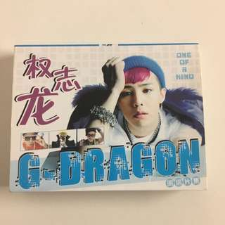 G-DRAGON Postcard Book