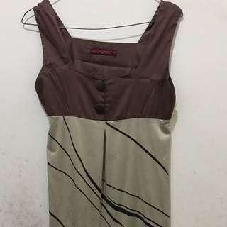 Geometric Mini Dress