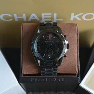 Michael Kors Bradshaw Jet Black Mens Watch (MK5550)