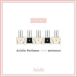 Miniature Arielle Perfume @ SGD$10/bottle