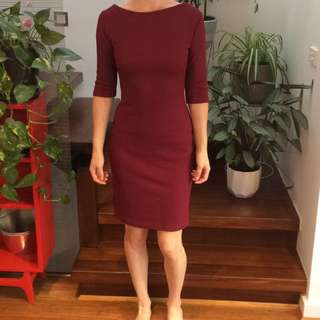 Size 8-10 Maroon Dress