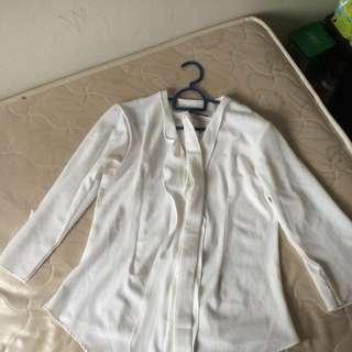 Misslilyshop kimono daisy white L