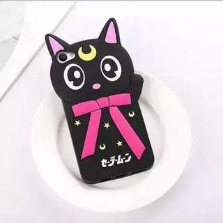 (READY STOCK) Vivo V5/Y67 Luna Cat Phone Casing