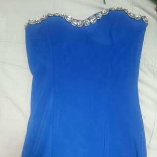 Blue Cocktail Dress (People Are People)