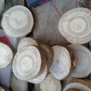 wood cookie wood slices
