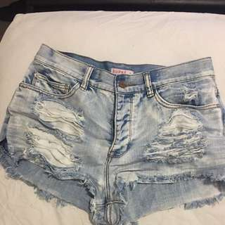 Supre High Wasted Shorts