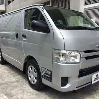Brand New Toyota Hiace Newly Register On Promotion