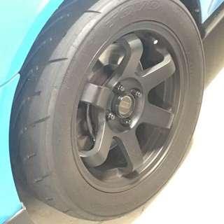 Volk Racing TE37 Concave Rims