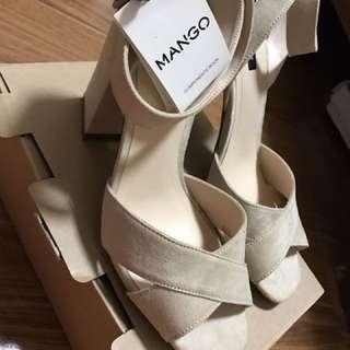 Mango Heels (beige)