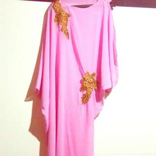Cleopatra Long PINK Party Dress (Code: Cleo)