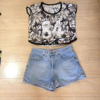 Top And Shorts