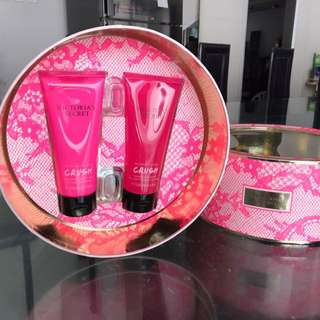 Victoria's Secret Body Fragrance Lotion & Wash Gel In Crush