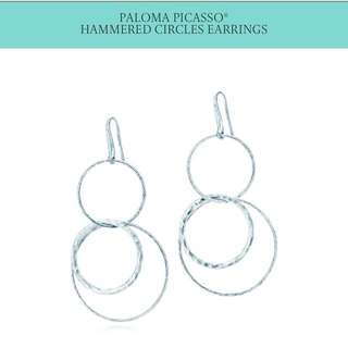 Tiffany And Co Paloma Picasso Hammered Earrings