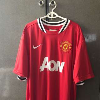 Original Man Utd Home 11/12 Jersey (2XL)
