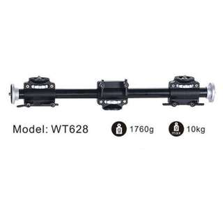 Weifeng Tripod Extending Arm | Boom Arm WT628 | Dual 3/8 Inch Male Tripod Extension | Flatlay | Stop Motion | Product Photography