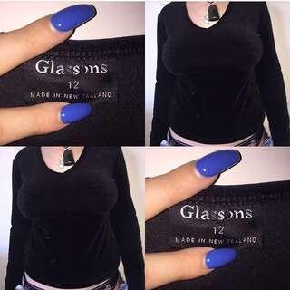 Glassons Velvet Long Sleeve ✨
