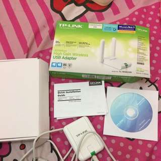 Tp Link Usb Adapter 300mbps High Gain Wireless