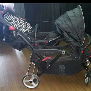 Contours Twin Stroller
