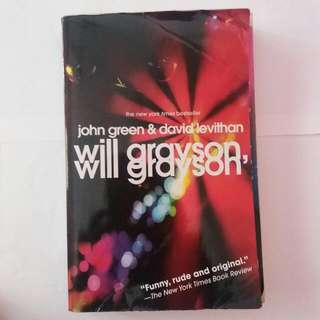 Will Grayson by John Green