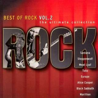 Best Of Rock Vol. 2: The Ultimate Collection compilation CD