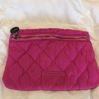 BCBG Generation Fluorescent Pink Clutch