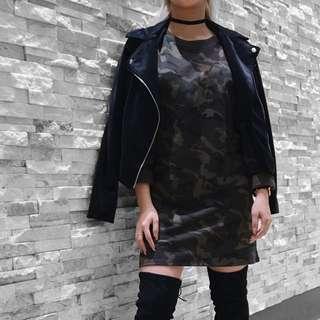 Suede Jacket: M for Mendocino, Vero Moda