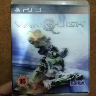 Vanquish Playstation 3 PS3 Video Game R2
