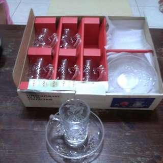 SOGA水晶玻璃小杯盤