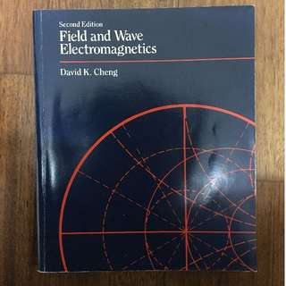 Fields and wave electromagnetics second edition