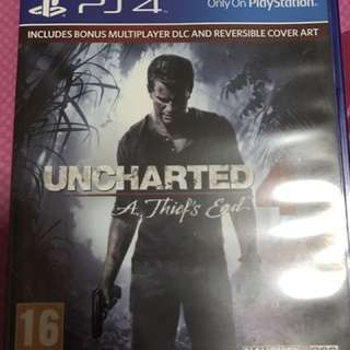 Uncharted 4-A Thief End