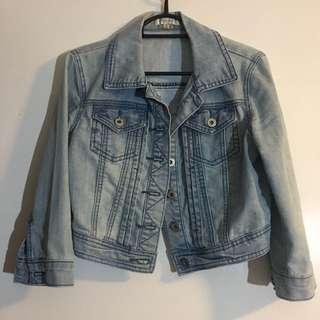 Sz8 Denim Crop Jacket