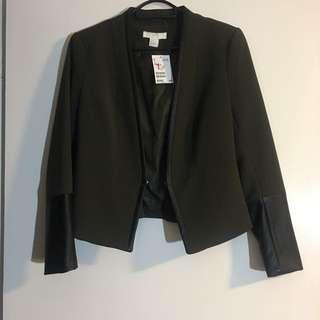 New. Sz 10. Blazer Jacket H&M
