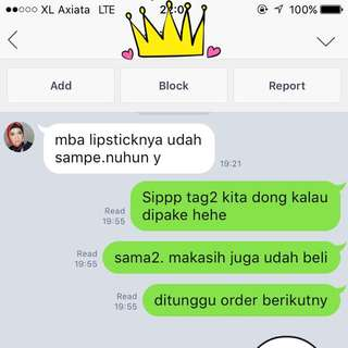TESTIMONIAL FROM OUR CUSTOMER :)