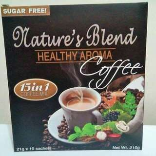 Nature's Blend 15 In 1 healthy Coffee