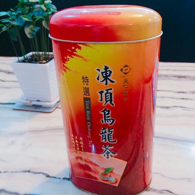 天仁茗茶鐵盒