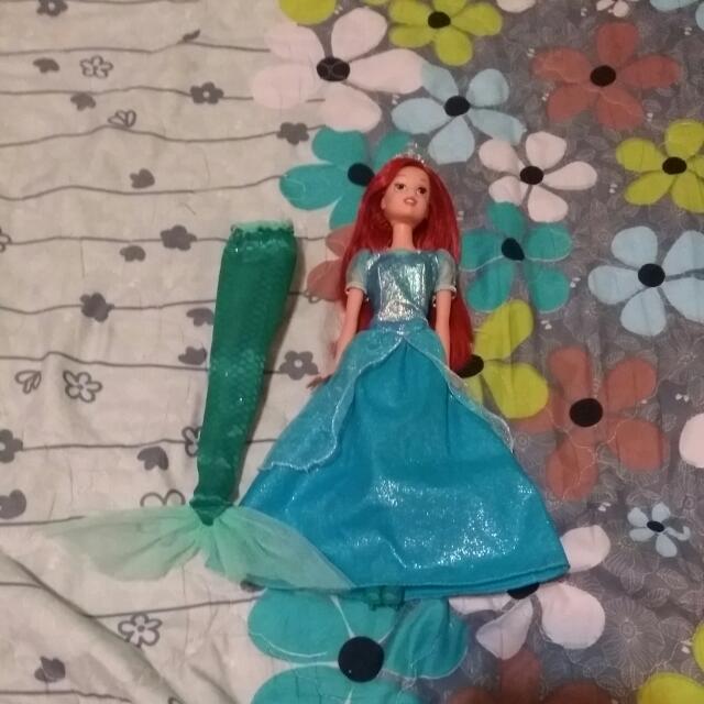 小美人魚愛麗兒娃娃