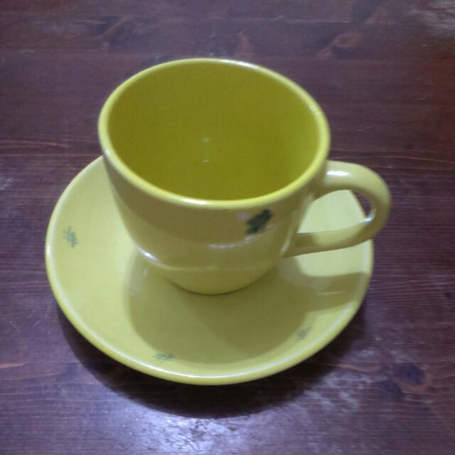 幸運草手工咖啡杯