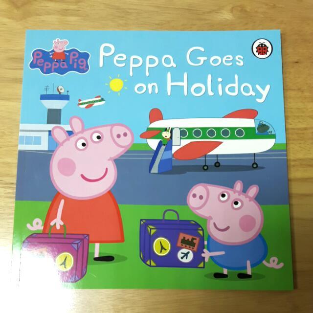 全新佩佩豬全英故事書,郵寄含運