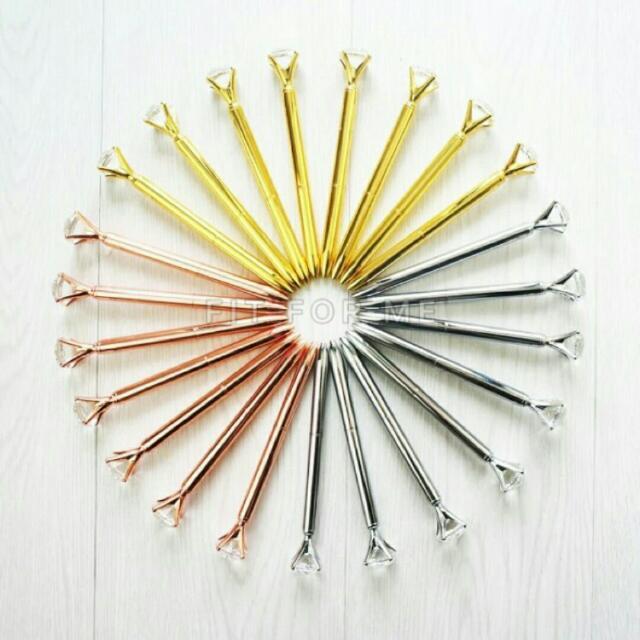 鑽石 原子筆 買2送1 💎含包裝筆芯