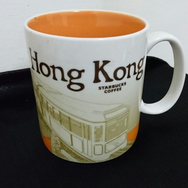 星巴克 城市杯 香港 City Mug