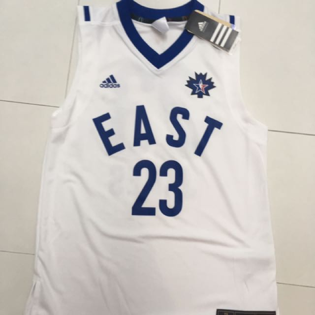 reputable site 0baed 57a36 Adidas NBA All-Star 2016 Toronto East Conference jersey ...