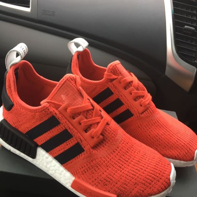 Adidas Nmd R1 - Red/White/Black