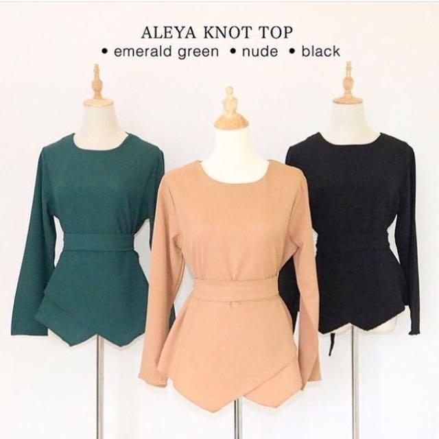 Aleya Knot Top
