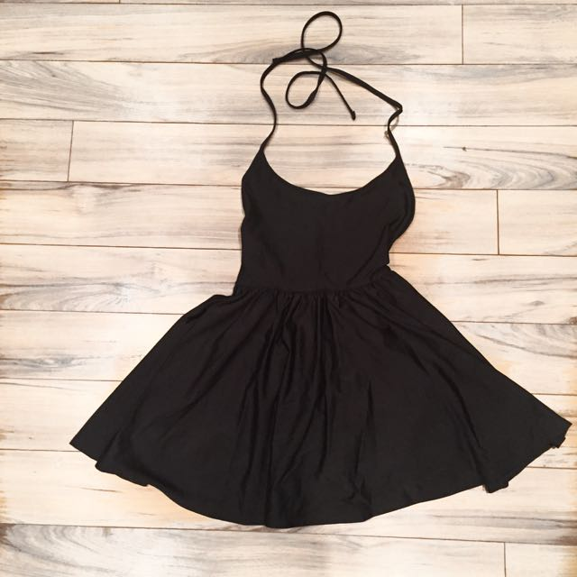 AMERICAN APPAREL BLACK DRESS