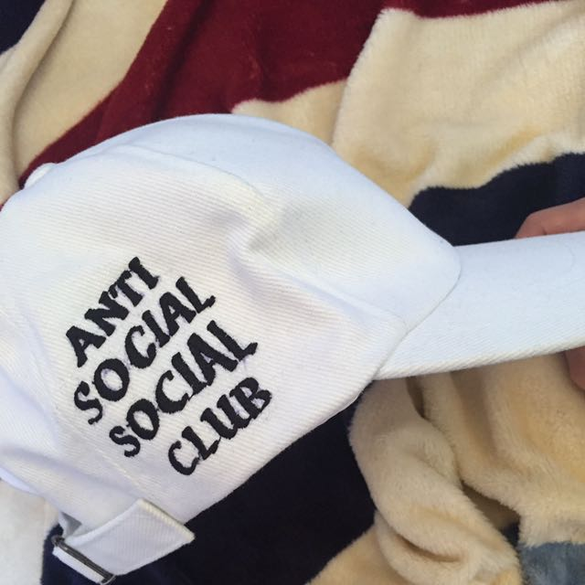 ANTI SOCIAL SOCIAL CLUB BASEBALL CAP