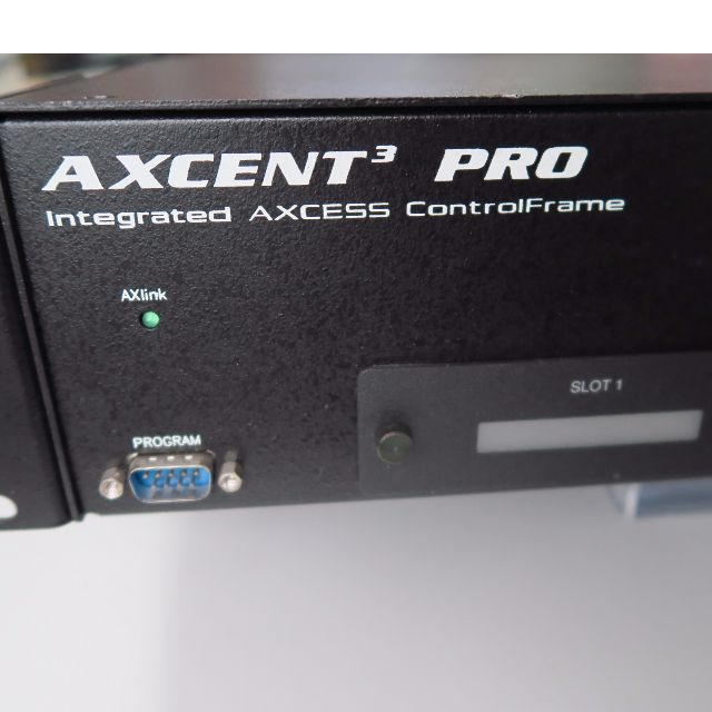 Throw-away Price!!! AXCENT 3 PRO INTEGRATED ACCESS CONTROL FRAME AMX ...