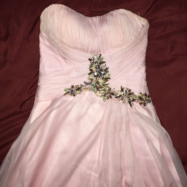 Pink Marlas Prom Dress