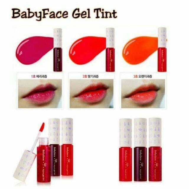 BabyFace Gel Lip Tint